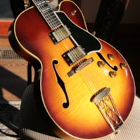 1957 Gibson ES-350T Sunburst! 2 PAF's, Sunburst, Light Flametop! Byrdland 335 355 345