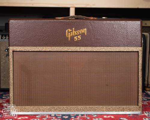 1957 Gibson GA-55 with cover