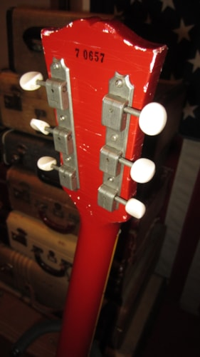 1957 Gibson Les Paul Special Cardinal Red, Excellent, Hard, $4,795.00