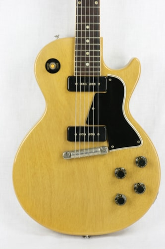 1957 Gibson Les Paul Special TV Yellow! Wheat, Near Mint, Original Soft, $10,900.00