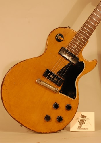 1957 Gibson Les Paul TV Special TV Yellow,limed Mahogany., Very Good, Hard, $8,000.00