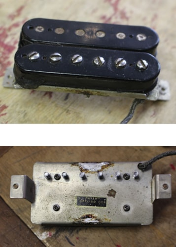 1957 Gibson  PAF Pickup,  Nickel cover