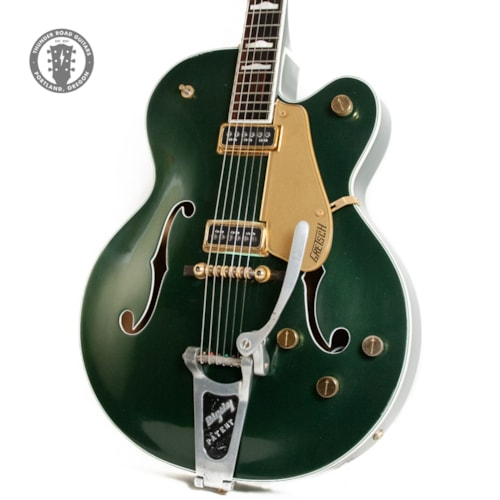 1957 Gretsch 6192 Country Club Refinished in Cadillac Green