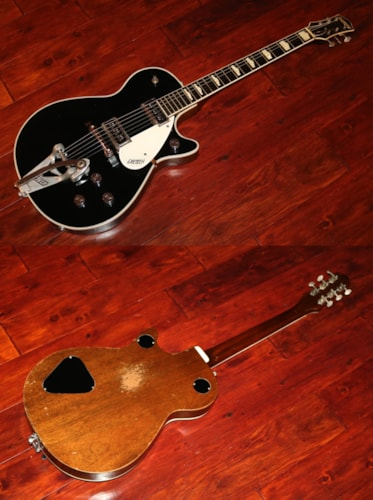 1957 Gretsch DuoJet Black, Very Good, Original Hard