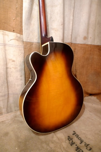 1957 Vega E-30D Archtop Sunburst, Excellent, Hard, $1,850.00