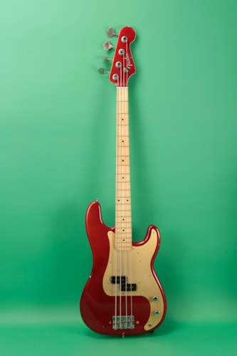 1958 Fender Precision Bass Red