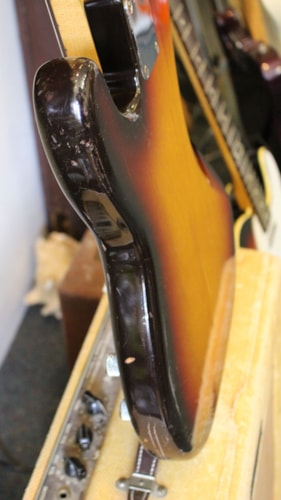 1958 Fender Precision Bass Sunburst, Excellent, Original Soft