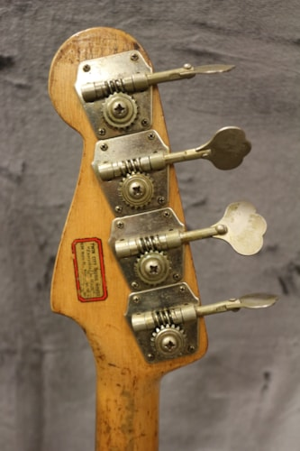 1958 Fender Precision Bass Sunburst