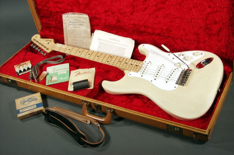 1958 Fender Stratocaster Blonde, Mint, Original Hard, Call For Price!