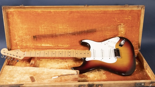 1958 Fender Stratocaster Three Tone Sunburst