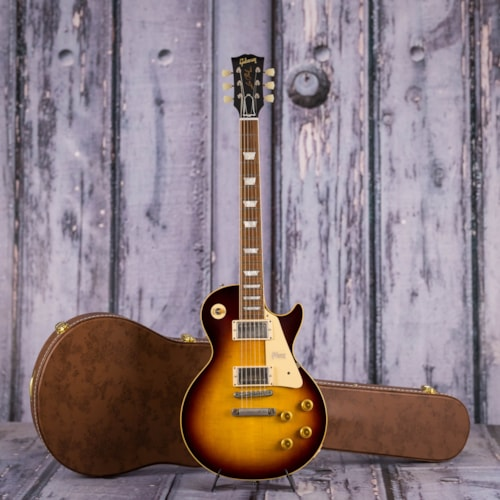Used Gibson Custom 1958 Les Paul Standard, Faded Tobacco VOS