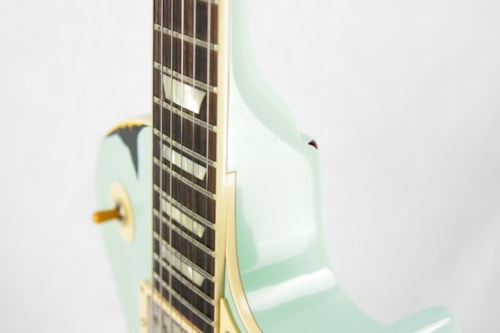 1958 Gibson Custom Shop AGED 58 Les Paul Reissue Kerry Green Over Dark Burst R8 Painted Over
