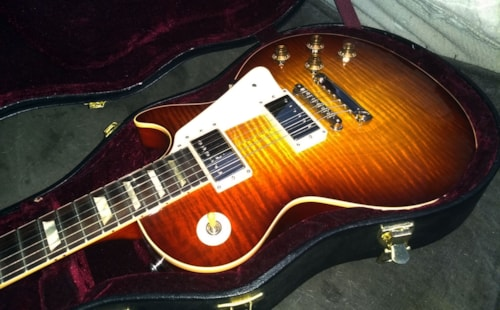1958 GIBSON HISTORIC LES PAUL STANDARD R9 (2009 reissue) SCOTCH BURST