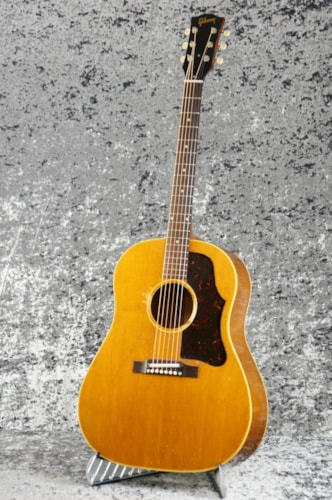 1958 Gibson J-50 Natural, Excellent, Hard, Call For Price!