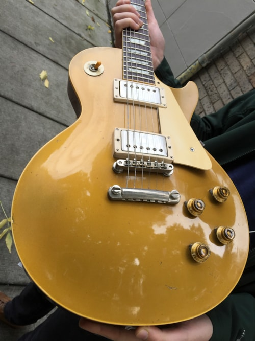 1958 Gibson Les Paul Goldtop Gt Guitars Electric Solid Body