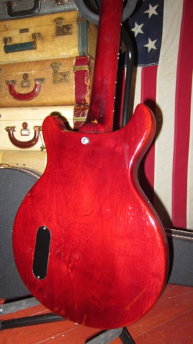 1958 Gibson Les Paul Junior Jr Cherry, Excellent, Hard, $3,795.00