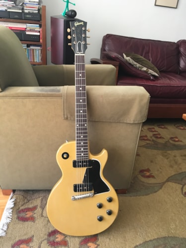1958 Gibson LES PAUL SPECIAL TV yellow, Near Mint, Original Hard, Call For Price!