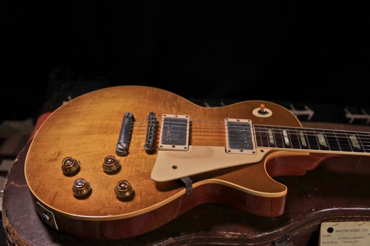 "1958 Gibson Les Paul Standard ""Burst"", Excellent, Original Hard"