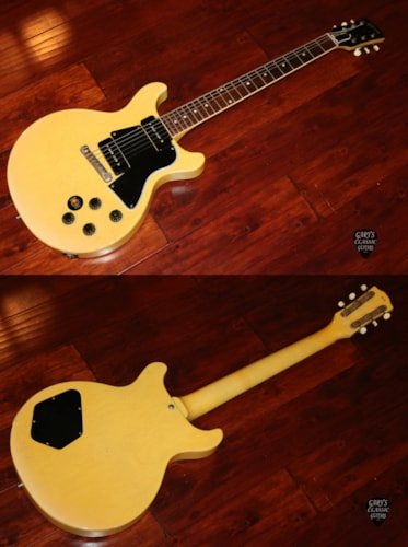 1958  Gibson Les Paul TV Special TV Yellow