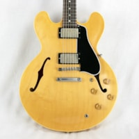 1958 Gibson Memphis '58 Reissue ES-335 TDN NATURAL Dot Neck No Binding 2016
