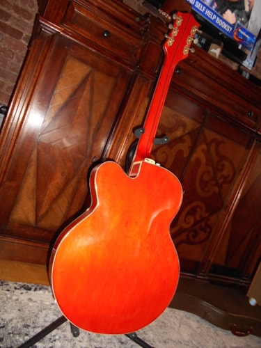1958 Gretsch 6120 Orange, Excellent, Original Hard