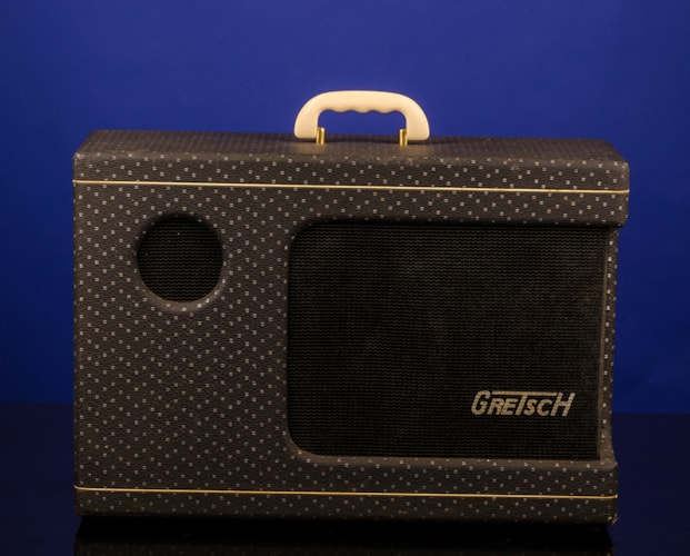 1958 Gretsch 6161 Electromatic Dual Twin Amplifier with Tremolo Two-Tone Gray, Near Mint