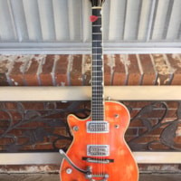 1958 Gretsch LEFTY Duo Jet 6128