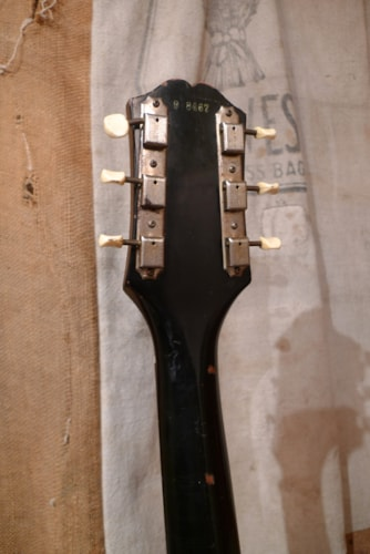 1959 Epiphone Coronet Black, Very Good, Original Soft