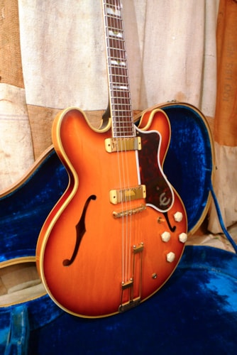 1959 Epiphone Sheraton Sunburst, Excellent, Original Hard, $18,500.00