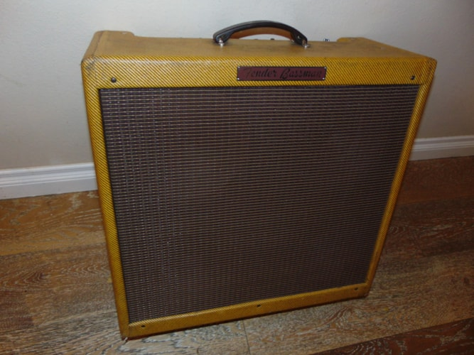 1959 Fender® Bassman® tweed, Fair, Call For Price!