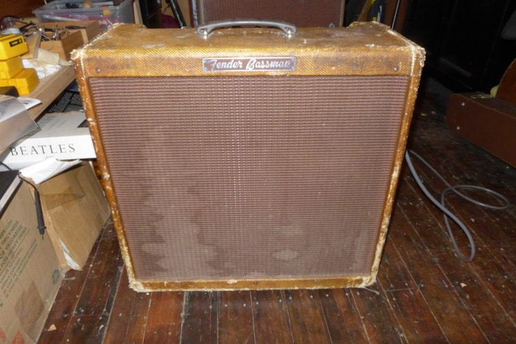 1959 Fender Bassman Tweed, Very Good, $10,500.00