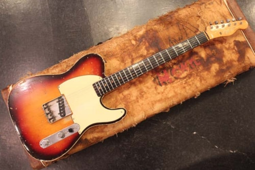 1959 Fender® Custom Esquire Sunburst, Excellent, Original Hard, Call For Price!