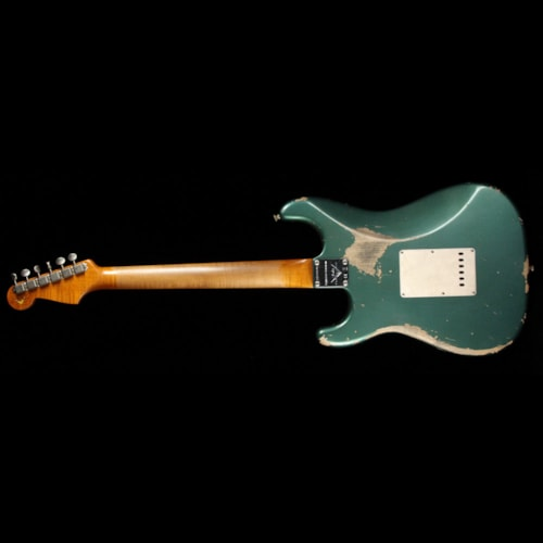 1959 Fender Custom Shop 1959 Stratocaster Limited Sherwood Green Metallic Heavy Relic Brand New, $4,100.00