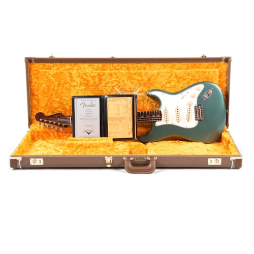 """Fender Custom Shop 1959 Stratocaster """"Chicago Special"""" Journeyman Relic Aged Sherwood Green w/Rosewood Neck (Serial #R103653)"""