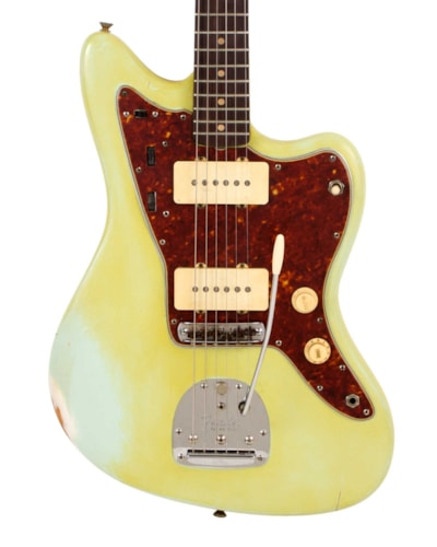 1959 Fender® Jazzmaster™ Faded Blue, Very Good, Hard, $3,995.00