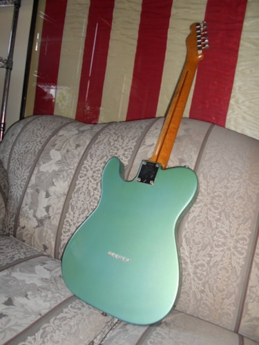 1959 Fender Telecaster Teal Green Metallic, Excellent, Hard