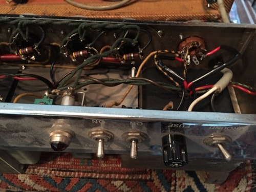 1959 Fender® Twin Amp™ Very Good, Call For Price!