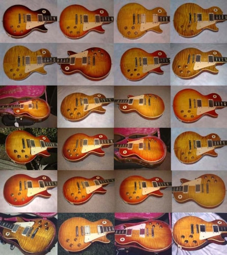 1959 Gibson Burst Gallery ORIGINALS!!! N.A., Original Hard