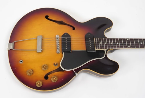 1959 Gibson ES-330 TD Sunburst, Very Good, Hard