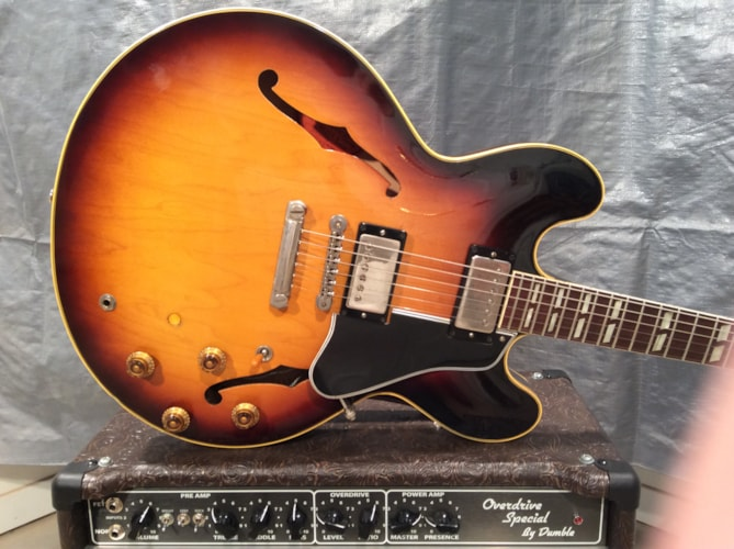 1959 Gibson ES-345 Very Good, Hard, $9,200.00
