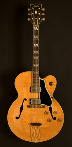 1959 Gibson ES-350TN Natural Blonde, Excellent, Original Hard