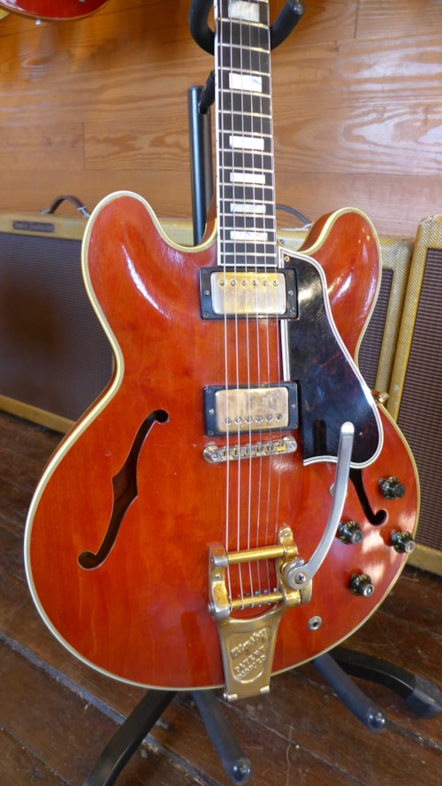 1959 gibson es 355 mono red guitars electric semi hollow. Black Bedroom Furniture Sets. Home Design Ideas