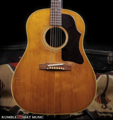 1959 Gibson J50 Natural, Very Good, Hard, $2,650.00
