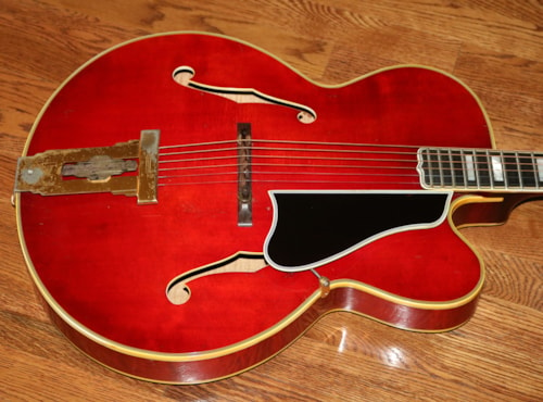 1959 Gibson L-5 CT  George Gobel model Cherry Red, Excellent, Original Hard
