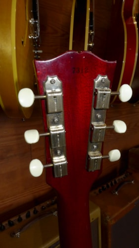1958 Gibson Les Paul Jr  Red > Guitars Electric Solid Body