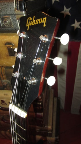 1959 Gibson Les Paul JR Junior Cherry Red, Excellent, Hard, $3,995.00