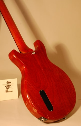 1959 Gibson Les Paul Junior doublecutaway Cherry Red, Very Good, Hard, Call For Price!