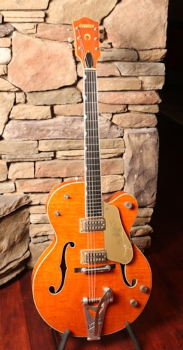 1959 Gretsch 6120 Western Orange, Excellent, Original Hard, $12,995.00