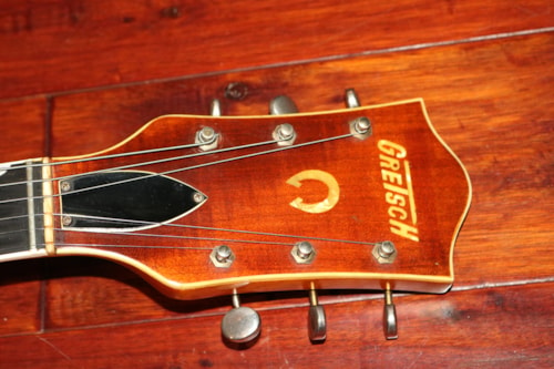 1959 Gretsch 6120  Western Orange, Excellent, Original Hard