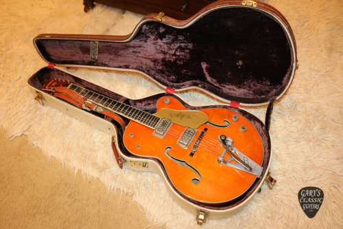 1959  Gretsch  6120  Western Orange